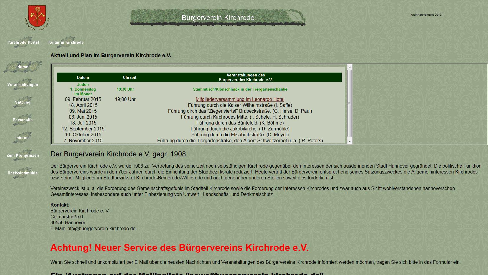 Buergerverein-Kirchrode.de