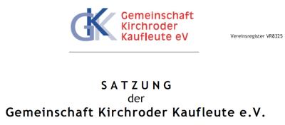 GKK-Satzung