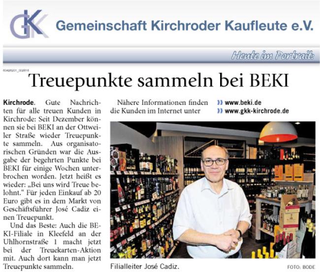 GKK-Portrait BEKI Frischmarkt