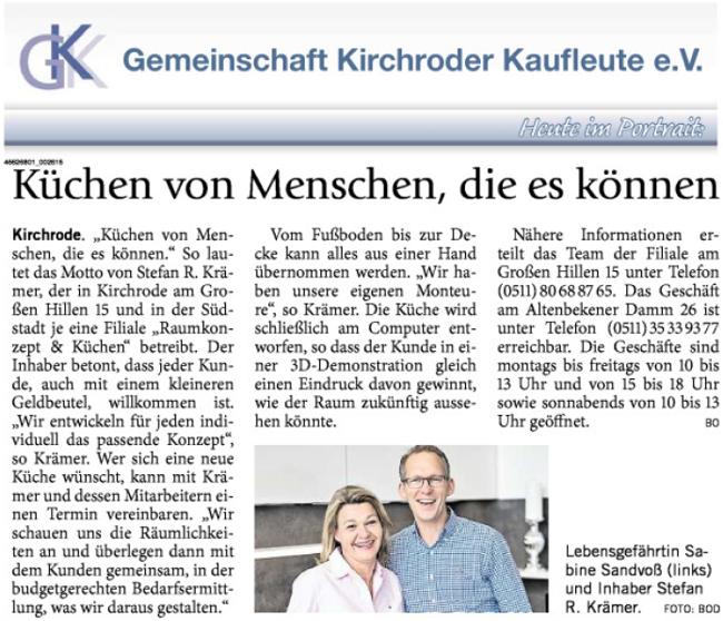 GKK-Portrait Küchen-Krämer